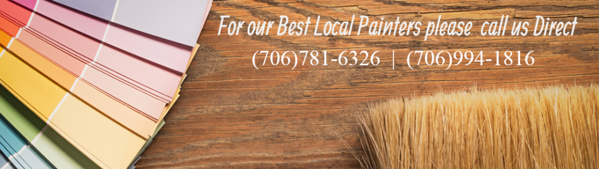 We Specialize in House and log Home Staining, Inside and Out, Deck Staining and Siding Restoration, Our Painters live just around the corner. Just call us…